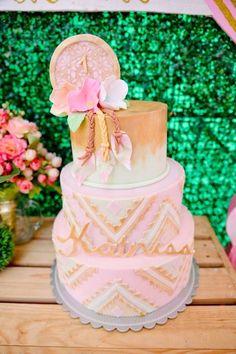 Pink Coachella Birthday Party