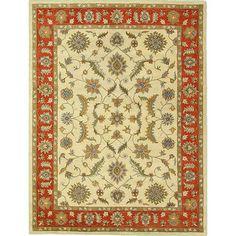 nuLOOM Hand-tufted  Wool Beige Rug (9' x 12')