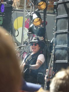 Adam Ant on Record Store Day 2014 Berwick Street in the heart of Soho.
