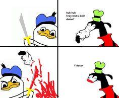 Donald Duck Youtube Internet Meme Know Your Meme Duck Animals