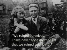 Scott Fitzgerald in a 1930 letter to Zelda Fitzgerald. Four new books told from Zelda's perspective are coming out this year.