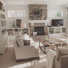 Chic Farmhouse Interior Design Farmhouse Open Concept Great Room With Modern Farmhouse Style