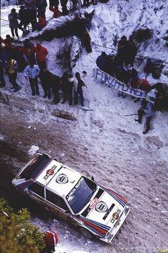 Henri Toivonen - Sergio Cresto  54th Rallye Automobile de Montecarlo 1986 (Lancia Delta S4)