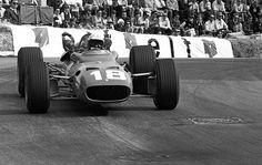 Lorenzo Bandini (Ferrari 312) Last Race Grand Prix de Monaco 1967