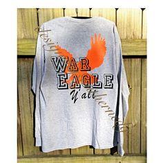 War Eagle Shirt https://www.etsy.com/shop/DesignsbysouthernEdg