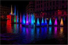 Fête des Lumières Lyon - Rue de la République