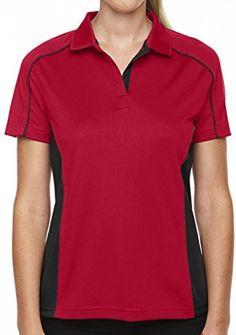 Yoga Clothing For You Ladies Moisture-Wicking Polo Shirt  Price : $32.99 - $36.99 http://yogaclothingforyou.hostedbywebstore.com/Yoga-Clothing-For-You-Moisture-Wicking/dp/B00PWC2XLA
