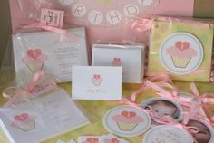 The TomKat Studio: Invitations: Sweet Cupcake Party Collection