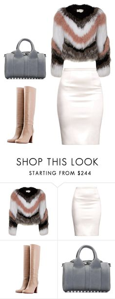 """"" by meriima-aljic ❤ liked on Polyvore featuring L'Autre Chose and Alexander Wang"