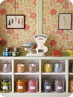 Cute! - time for a pantry remodel!