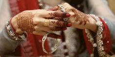 Cute Bride Hands