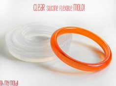Rounded  Bangle Clear Mold,resin bangle mold