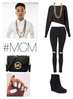"""""""Jacob latimore #MCM"""" by wateveruwant ❤ liked on Polyvore featuring Crea Concept, Topshop, Vince Camuto, Coach and MICHAEL Michael Kors"""