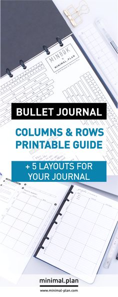 Here's a printable guide to help you easily split your spread in equal columns and rows. Stop counting and create bullet journal layouts within minutes! / Bullet journal, bullet journal printables, how to start a bullet journal Bullet Journal En Français, Bullet Journal For Beginners, Bullet Journal Printables, Bullet Journal How To Start A, Bullet Journal Layout, Bullet Journal Inspiration, Bullet Journals, Planner Pages, Printable Planner