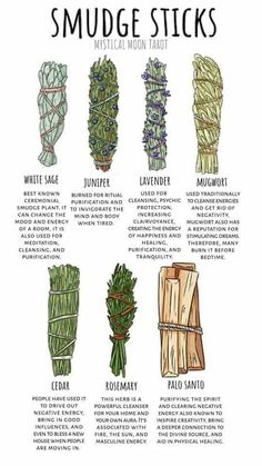 Smudge sticks, various ways to cleanse your space, your spirit, your mind, and body. Wiccan Witch, Magick Spells, Wicca Witchcraft, Green Witchcraft, Candle Spells, Candle Magic, Healing Herbs, Natural Healing, Medicinal Herbs