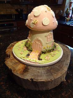 Cute Fairy Birthday Party Cake.