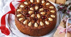 Nothing beats old-fashioned Christmas cake, especially when it's this easy. You'll need to make the fruit mince at least 1 week ahead of starting the cake. Christmas Desserts, Christmas Baking, Christmas Recipes, Christmas Cakes, Christmas Treats, Christmas Dinners, Christmas Cup, Xmas Food, Christmas Foods