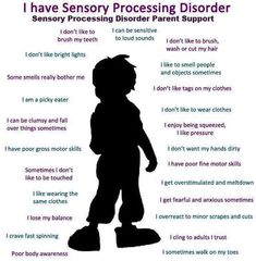 Sensory Processing Disorder (SPD) Here are a few symptoms. October is National Sensory Awareness Month 💙🧡💙🧡 Sensory Processing Disorder Toddler, Auditory Processing Disorder, Sensory Disorder, Sensory Processing Disorder Checklist, Autism Sensory, Sensory Activities, Sensory Toys, Proprioceptive Activities, Autism Activities
