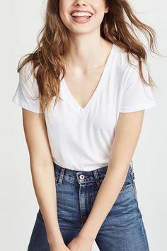 d7f75ca1 23 Best V neck T shirt images | V neck t shirt, Shirt ideas, T shirts