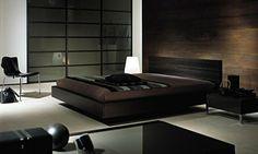 Slaapkamer aziatisch donker