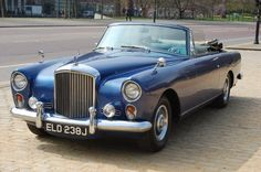 Bentley S2 Continental Drophead Coupe by Park Ward (1959-62)