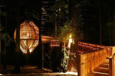 Yellow treehouse restaurant, New Zealand