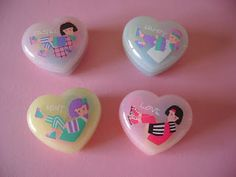 Soundy Pastel Colours Erasers