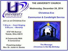 Join us on Christmas Eve!