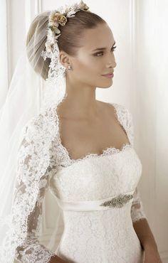Pronovias 2015 Bridal Collections - Part 2   bellethemagazine.com