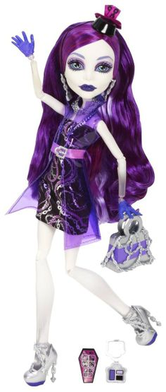 Monster High Ghouls Night Out Spectra Vondergeist Doll - Free Shipping