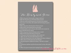 newly-wed-game, princess bridal shower, fairytale bridal shower, happy ever after bridal shower games pack, bs135