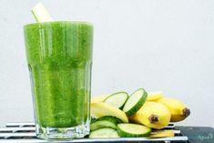 Vitaminesmoothie met banaan, chiazaad en appel recept