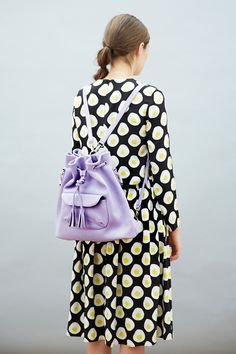 The only thing to make TWP Egg Print Twin Set even better is the addition of Leather Bucket Bag Lilac http://www.thewhitepepper.com/collections/tops/products/egg-print-skirt-crop-top-twin-set - http://www.thewhitepepper.com/collections/bags/products/bucket-bag-lilac #TWP