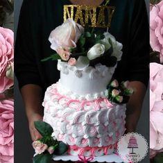 Grandma's Birthday Cake🌷🌹🌺 . . . . . . . . . . . . . . . . . . . . #grandma #cake… Grandma Birthday Cakes, Grandma Cake, Blessed, Instagram