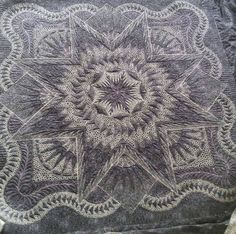 Glacier Star, Quiltworx.com, Quilted by Jane Hauprich