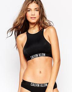 Image 1 - Calvin Klein - Intense Power - Top de bikini coupe courte Maillot  De d234faa629
