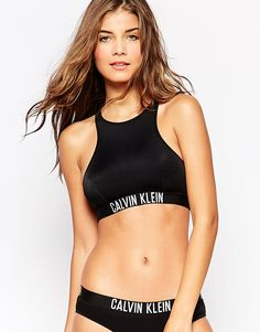 Image 1 - Calvin Klein - Intense Power - Top de bikini coupe courte