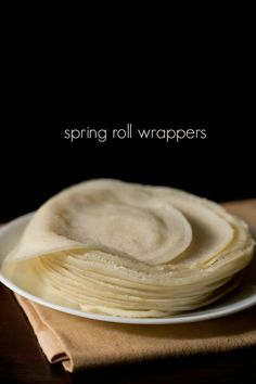 roll sheets spring roll wrappers recipe - easy batter method to make spring roll wrappers at home.spring roll wrappers recipe - easy batter method to make spring roll wrappers at home. Veg Spring Rolls, Homemade Spring Rolls, Chicken Spring Rolls, Indian Food Recipes, Asian Recipes, Vegetarian Recipes, Cooking Recipes, Healthy Veg Recipes, Veg Recipes Of India