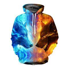 08b2aa4a2 Designer 3D Hoodies Men Hooded Sweatshirts Melted Skull 3D Print Casual  Pullovers Streetwear