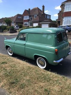 1961 Ford van SOLD, I have owned this van for a little over a year one of the best driving classics I have owned it wa Ww2 Fighter Planes, Ford Anglia, Old Lorries, Cool Old Cars, Day Van, Van For Sale, Vintage Vans, Commercial Vehicle, Transportation