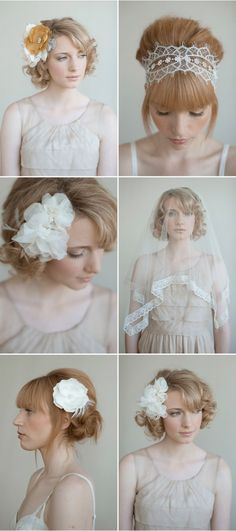beautiful hair pieces and hairstyles