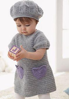 Sweet lil' crochet dress