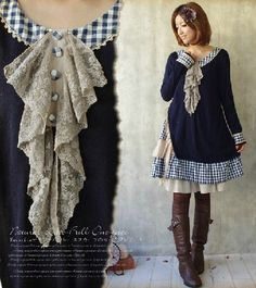 Find More Information about Mori Girl Style Autumn & Winter Cotton Lace Collar Plaid Asymmetrical Dress Long Sleeve Knee Length Japanese Forest Girl,High Quality girl summer,China girl set Suppliers, Cheap girl fashion from Tiny's Store  on Aliexpress.com