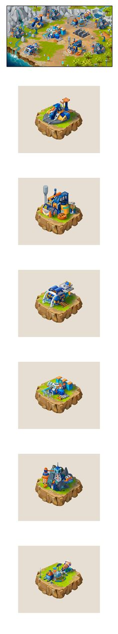 Illustration for the game on Behance