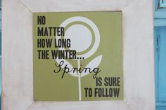 Need this for AK Poppies at Play: New sign for Spring~