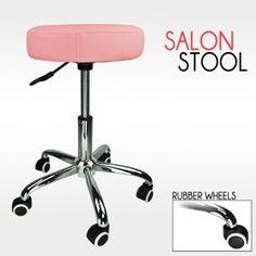 Barber Pink Hydraulic Stool Chair Facial Salon Tattoo Beauty