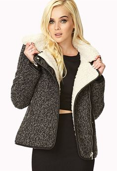 Winter Nights Bomber Jacket | FOREVER21 - 2073375117