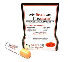 6 Pack of My Spots are Consealed 0.17 oz./5ml (Light) >>> This is an Amazon Affiliate link. Check out this great product.