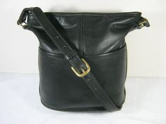 Vintage AUTHENTIC COACH Leatherware Bucket/Hobo Bag USA!  by LavenderGardenCottag