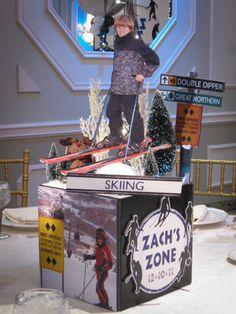 Themed Centerpieces - Ski Themed Centerpiece